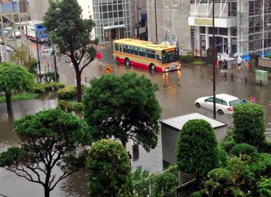 【保存版】茅ヶ崎はよく冠水するけど、どの辺が冠水するのかな。。梅雨、台風対策。