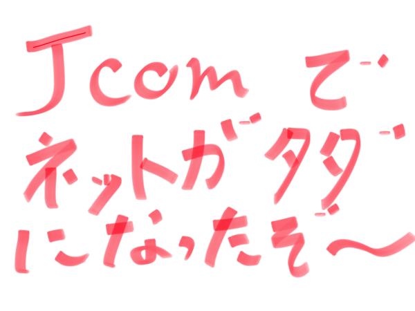 賃貸アパートはJcomのin my roomが入ってるとネットが無料よ!!!調べてみよう。