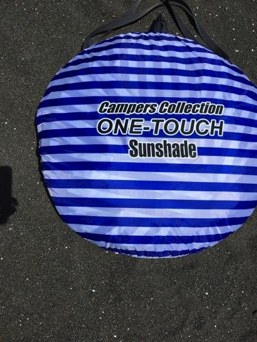 ワンタッチサンシェード(campers collection one-touch sunshade)を買って、もっと早く買えばよかったと悔やんだ。