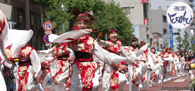 『第16回湘南よさこい祭り2019』が2019年6月2日(日)に開催されます。40チームを超える規模!!
