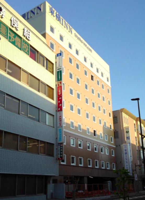 小田原駅東口に東横インがオープンするみたい。2018年8月27日(月)予定