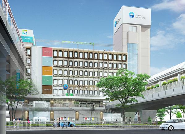 藤沢駅南口に「ODAKYU 湘南 GATE」が2019年3月22日オープン。図書館も6Fに移転。