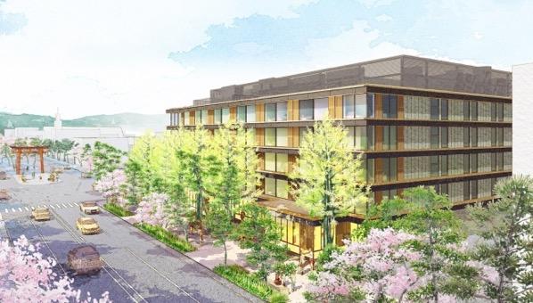 鎌倉にホテルメトロポリタンができるみたい。2020年3月開業!!