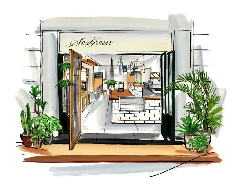 ファッションブランド「Seagreen」のカフェが鎌倉に2019年8月17日にオープンするみたい。