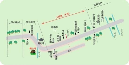 Shukuba map