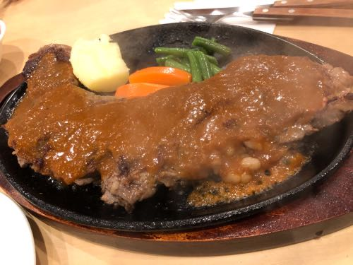【寒川】ステーキハウスタワラに行ってみたので食レポ。3日後に今度は500gで食べたくなった。